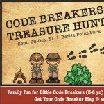 Code Breakers Treasure Hunt at Battle Point Park