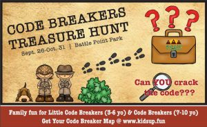 Code Breakers Treasure Hunt at Battle Point Park