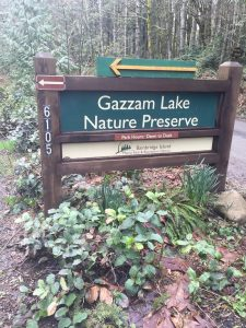 Gazzam Lake Nature Preserve