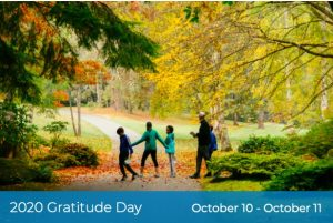 BLOEDEL: Second Annual Gratitude Day