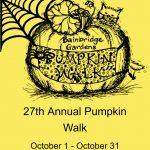 Bainbridge Gardens: 27th Annual Pumpkin Walk