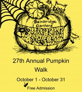 Bainbridge Gardens: 27th Annual Pumpkin Walk