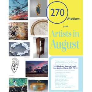 Artists in August Annual Art and Craft Sale