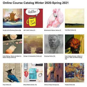 Online Course Catalog Winter 2020-Spring 2021