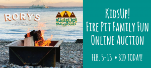 KidsUp! Fire Pit Family Fun Auction