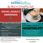 Connections Cafe: Sexual Assault Awareness