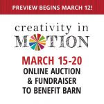 Creativity in Motion: A Fundraising Auction to Benefit BARN