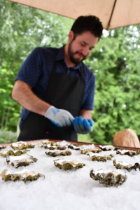 Salish Sea Greens Pop-up Oyster Bar