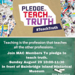 Zinn Education Project Pledge to Teach Truth Day of Action