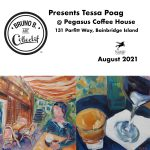 Bruno B. Art Collectif presents Tessa Poag at Pegasus Coffee House on Bainbridge Island