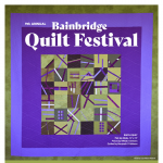 Bainbridge Island Modern Quilt Guild Fall Festival